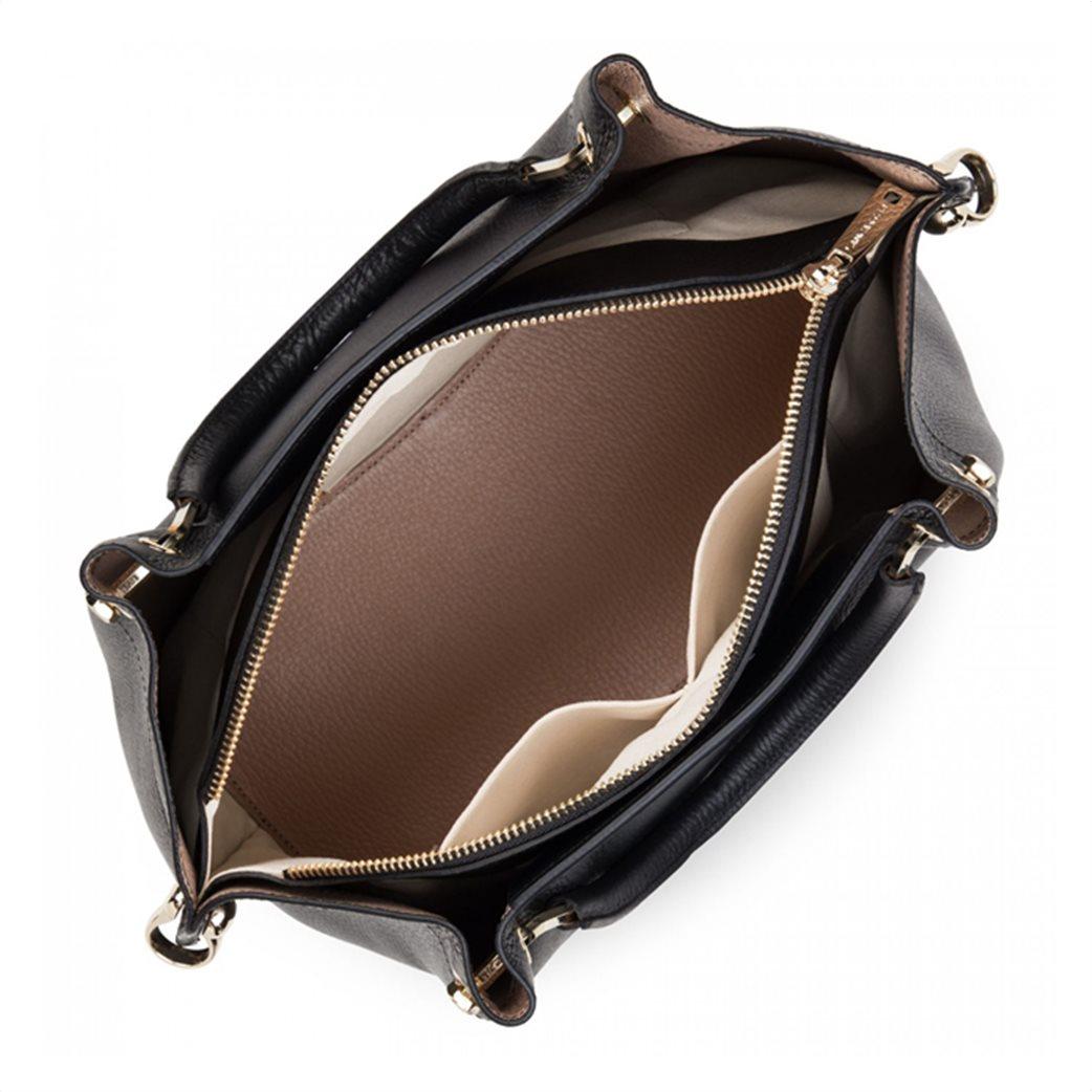 Lancaster γυναικεία τσάντα χειρός με μεταλλικές λεπτομέρειες 3