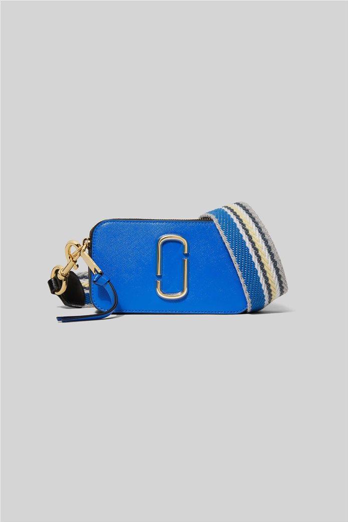 "Marc Jacobs γυναικείο δερμάτινο mini bag ""Snapshot"" Ροζ 0"
