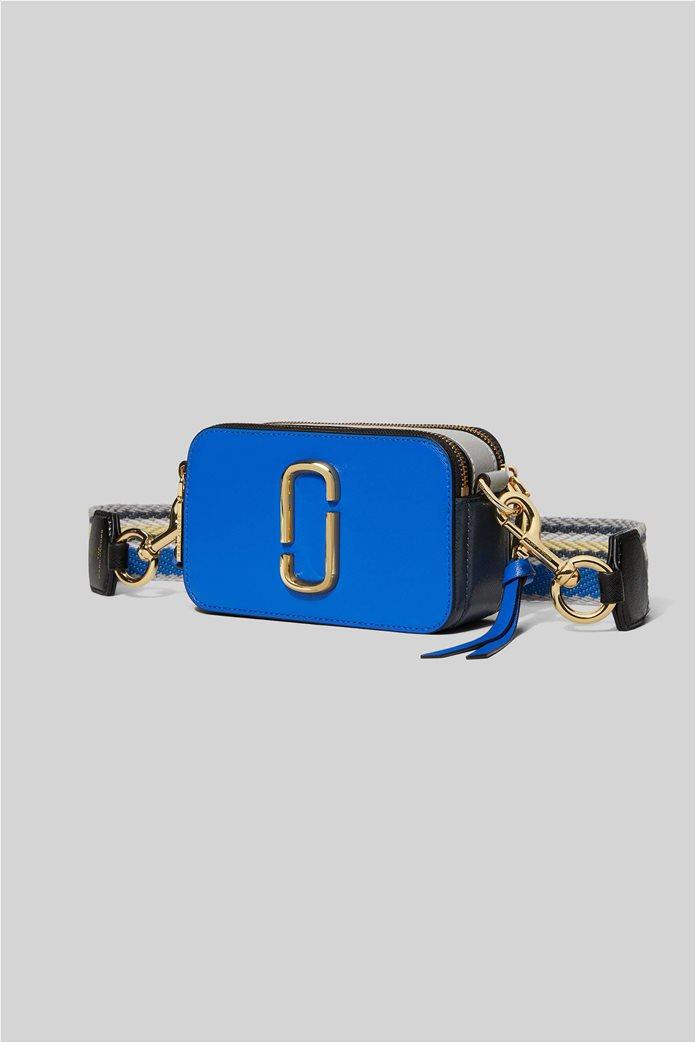 "Marc Jacobs γυναικείο δερμάτινο mini bag ""Snapshot"" Ροζ 1"