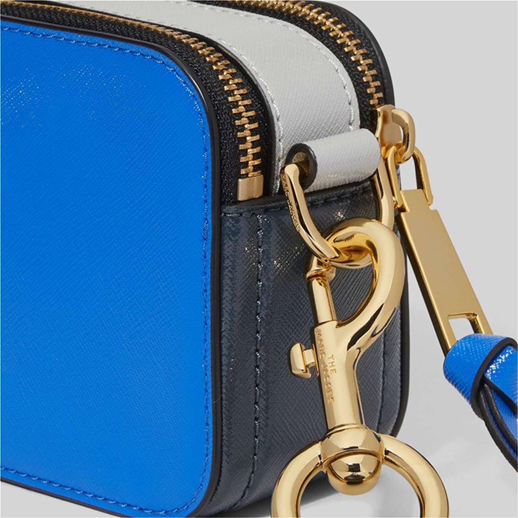 "Marc Jacobs γυναικείο δερμάτινο mini bag ""Snapshot"" Ροζ 3"