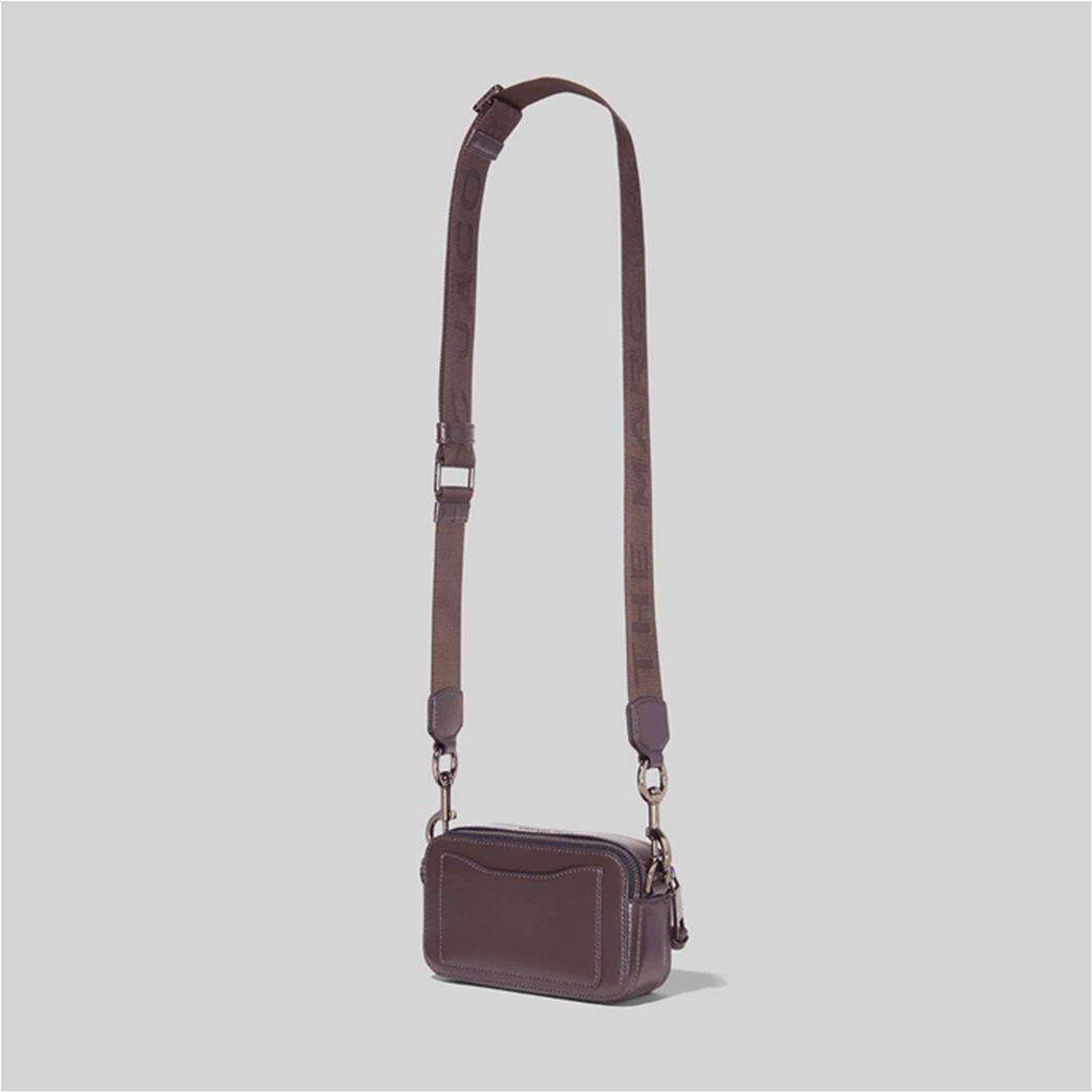 """Marc Jacobs γυναικείο δερμάτινο mini bag """"Snapshot Dtm"""" Ανθρακί 2"""