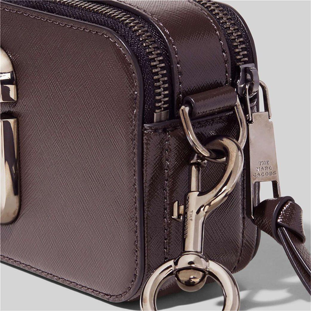 """Marc Jacobs γυναικείο δερμάτινο mini bag """"Snapshot Dtm"""" Ανθρακί 3"""