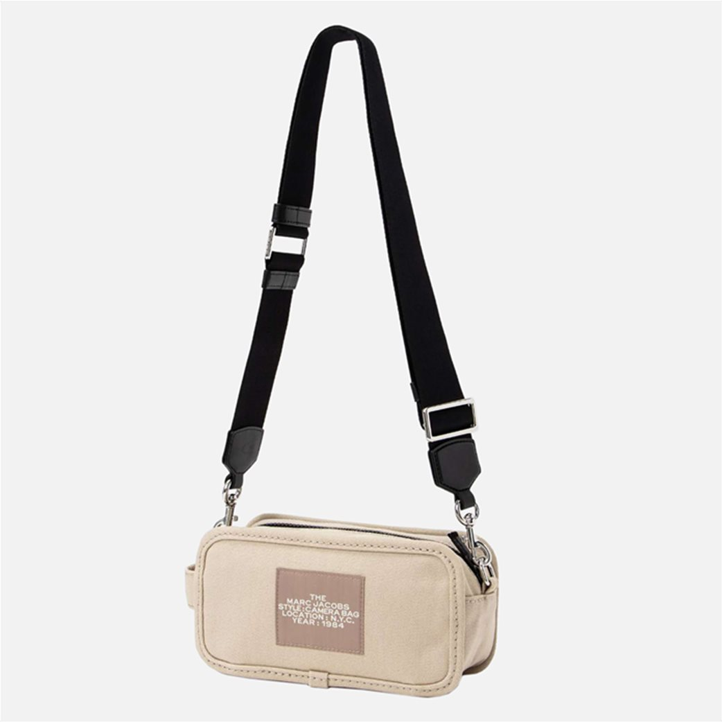 "Marc Jacobs γυναικεία τσάντα crossbody με print ""The Camera Bag"" Εκρού 2"