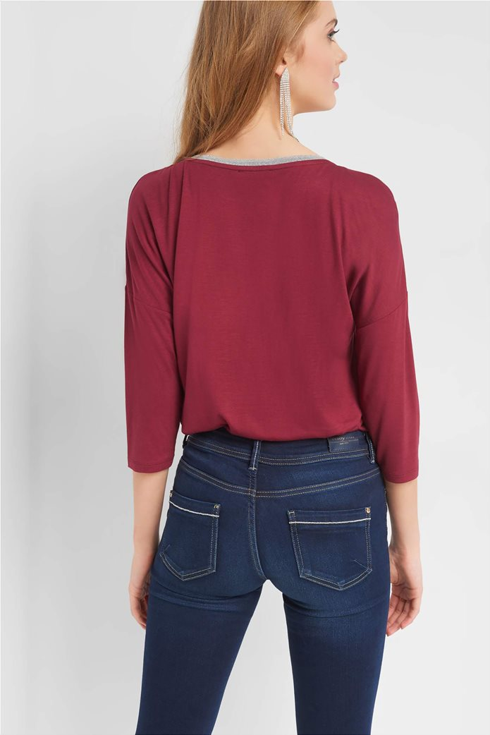 Orsay γυναικεία μπλούζα με μεταλλικές ίνες 2