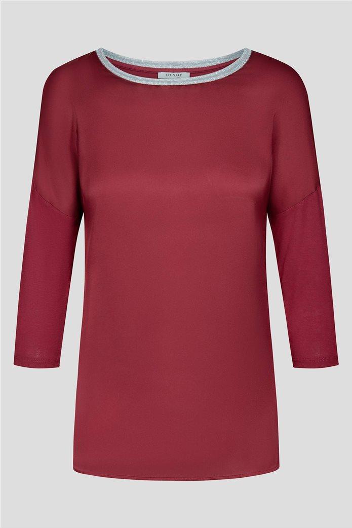 Orsay γυναικεία μπλούζα με μεταλλικές ίνες 4