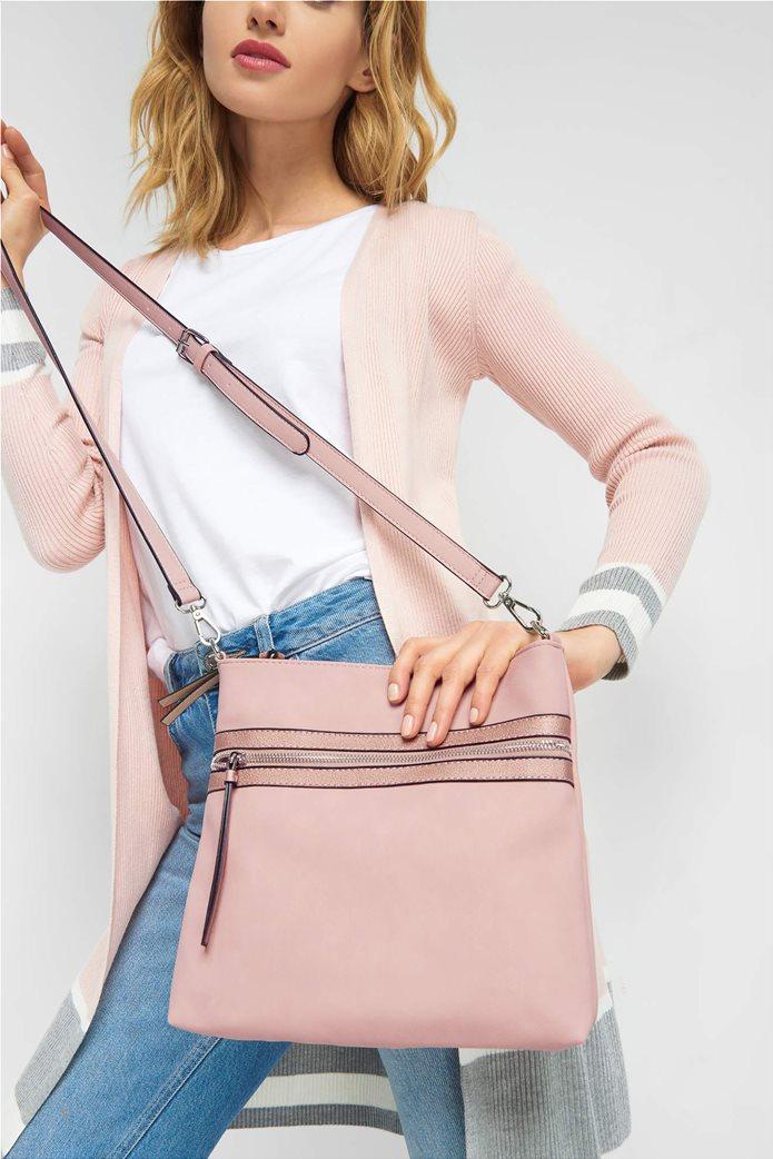 Orsay γυναικεία crossbody τσάντα με τσέπη 0