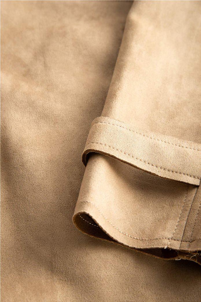 Orsay γυναικείο midi παλτό suede υφή 3