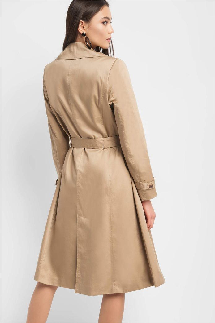 Orsay γυναικεία καμπαρντίνα μονόχρωμη χωρίς κουμπιά 2