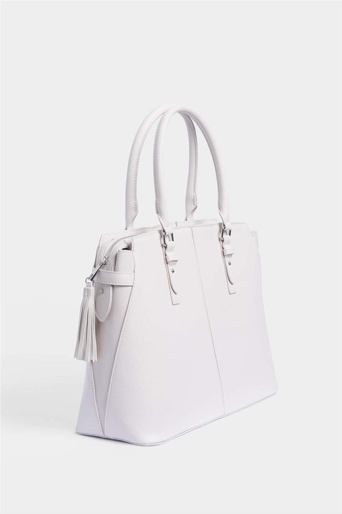 Orsay Γυναικεία τσάντα ώμου μεγάλη μονόχρωμη 4