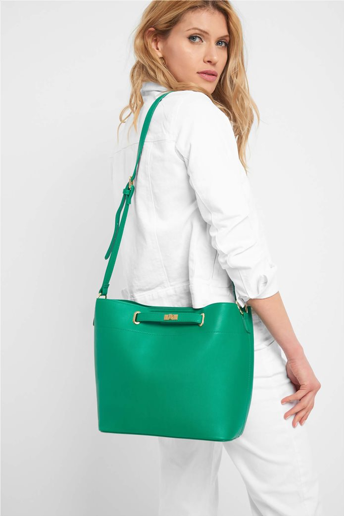 Orsay γυναικεία hobo τσάντα μονόχρωμη 0