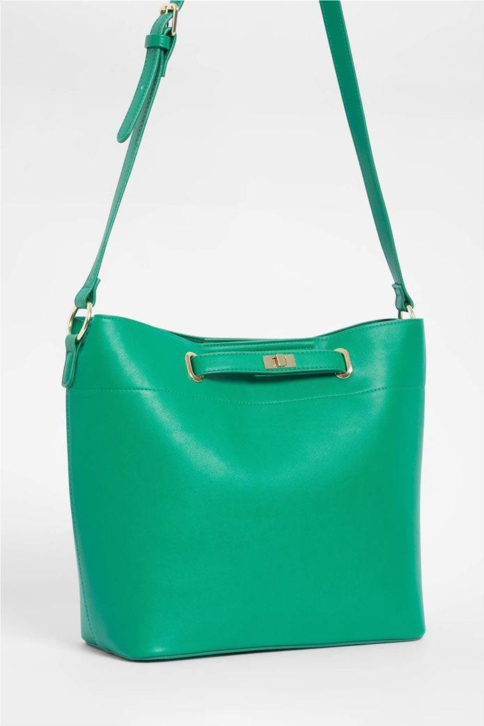 Orsay γυναικεία hobo τσάντα μονόχρωμη 1
