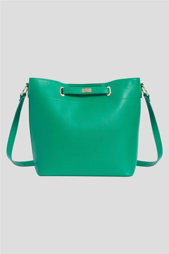 Orsay γυναικεία hobo τσάντα μονόχρωμη 2