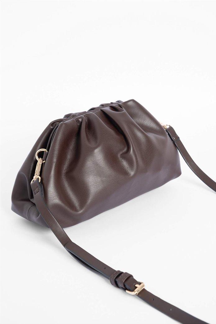 Orsay γυναικεία clutch τσάντα με σούρες 1