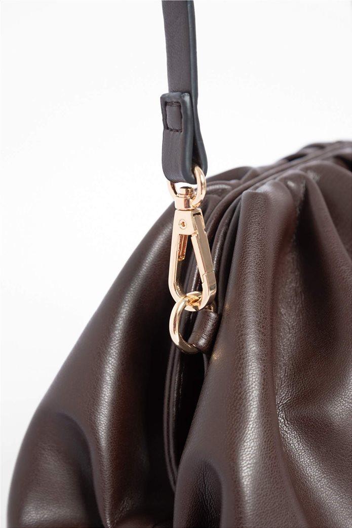 Orsay γυναικεία clutch τσάντα με σούρες 2