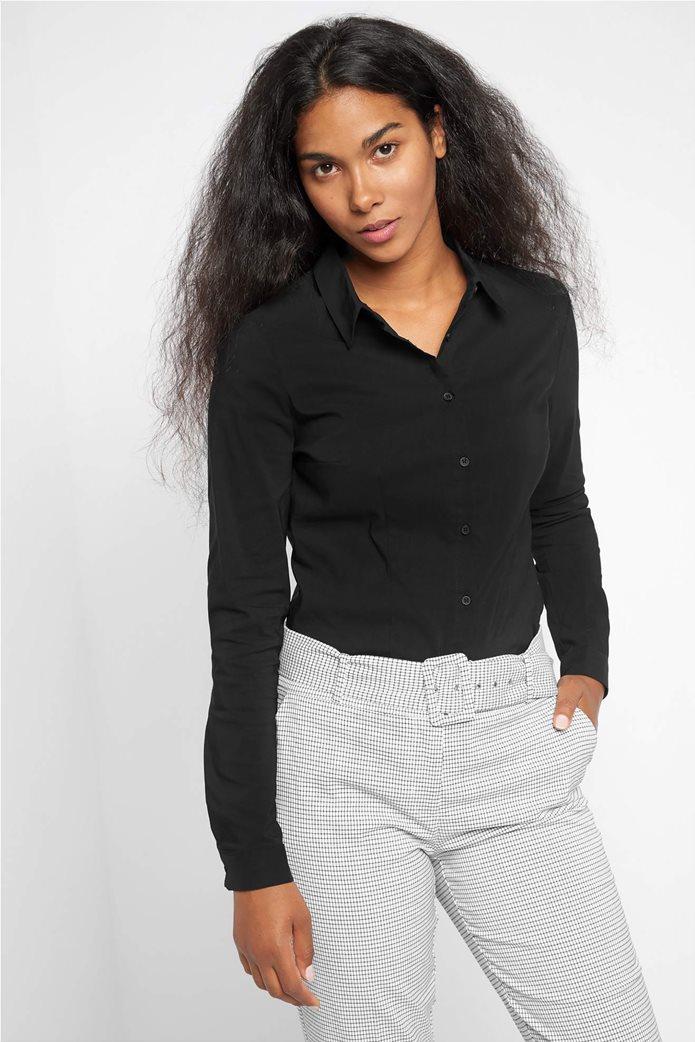 Orsay γυναικείο πουκάμισο μονόχρωμο 0