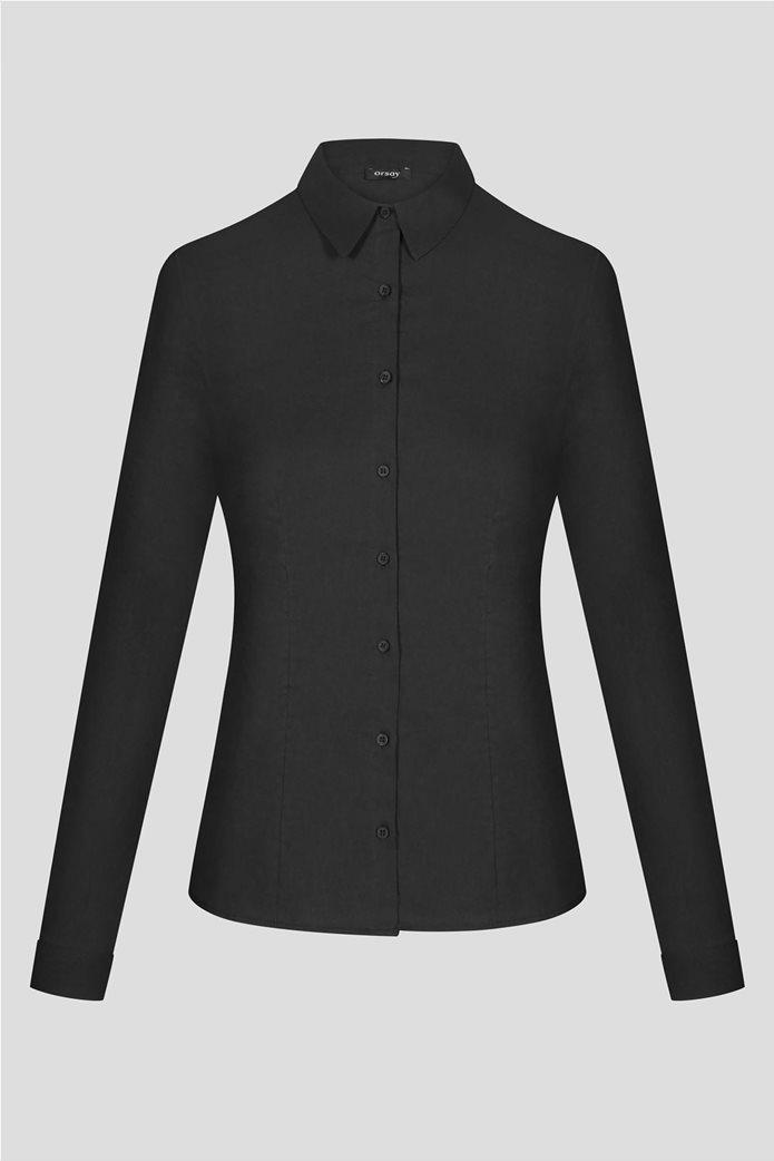 Orsay γυναικείο πουκάμισο μονόχρωμο 4
