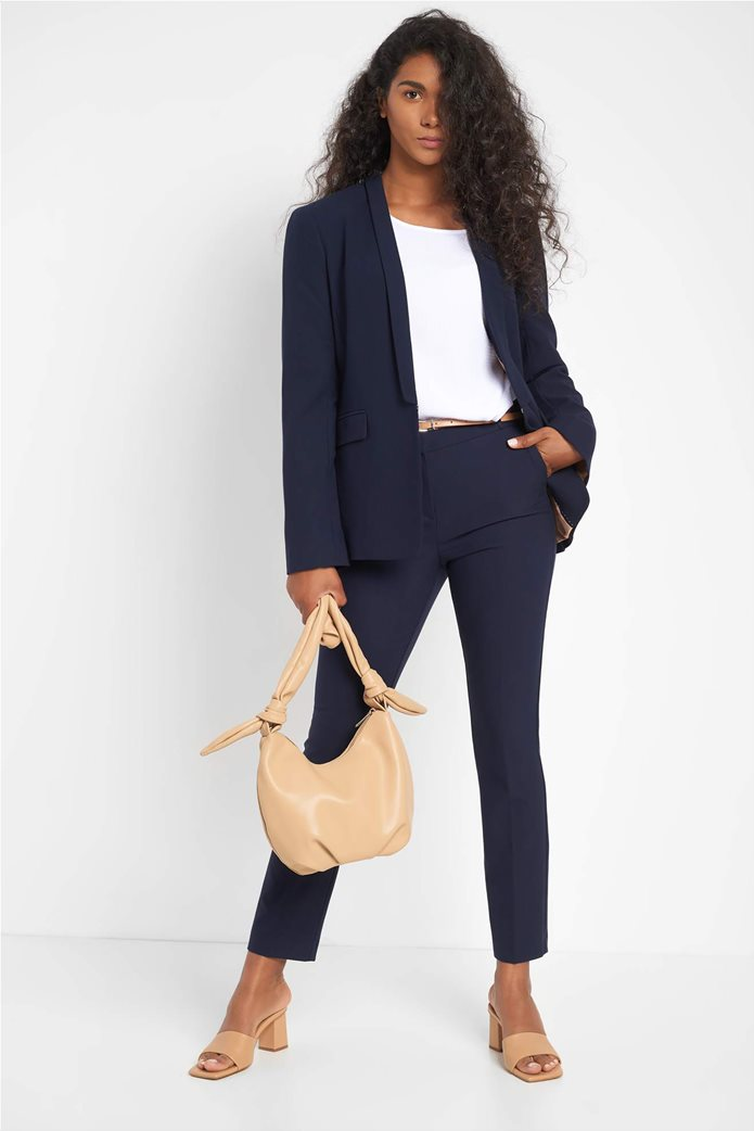 Orsay γυναικεία μπλούζα μονόχρωμη με ανάγλυφο σχέδιο 1