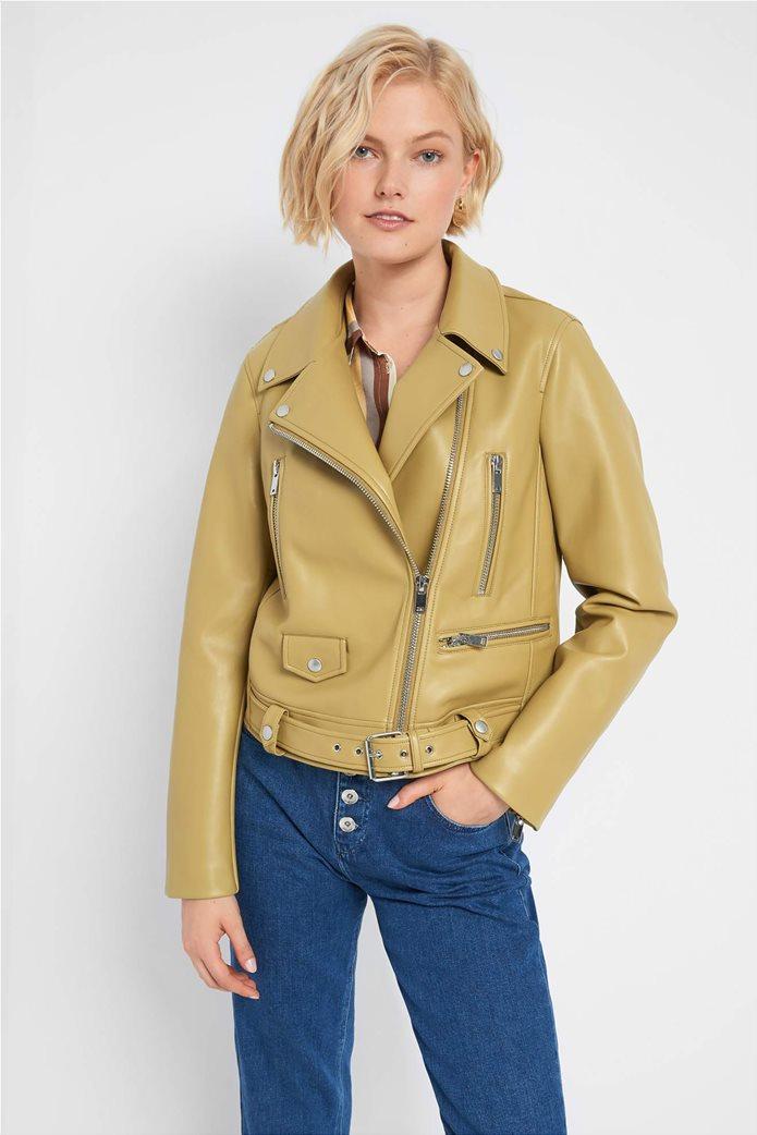 Orsay γυναικείο biker jacket faux leather 0