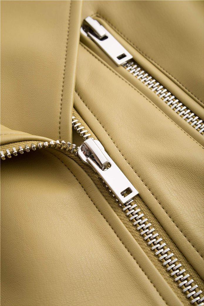 Orsay γυναικείο biker jacket faux leather 3