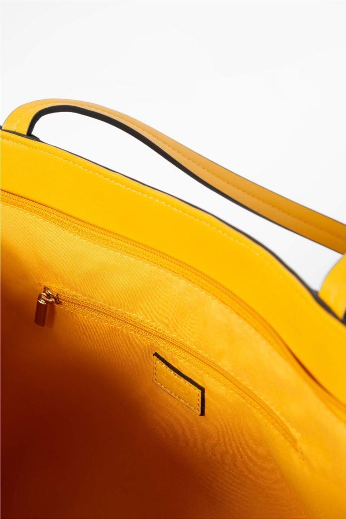 Orsay γυναικεία shopper bag suede με διακοσμητικά κρόσια 3