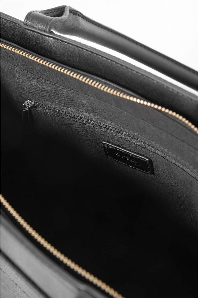 Orsay γυναιεία τσάντα χειρός με snake print 2