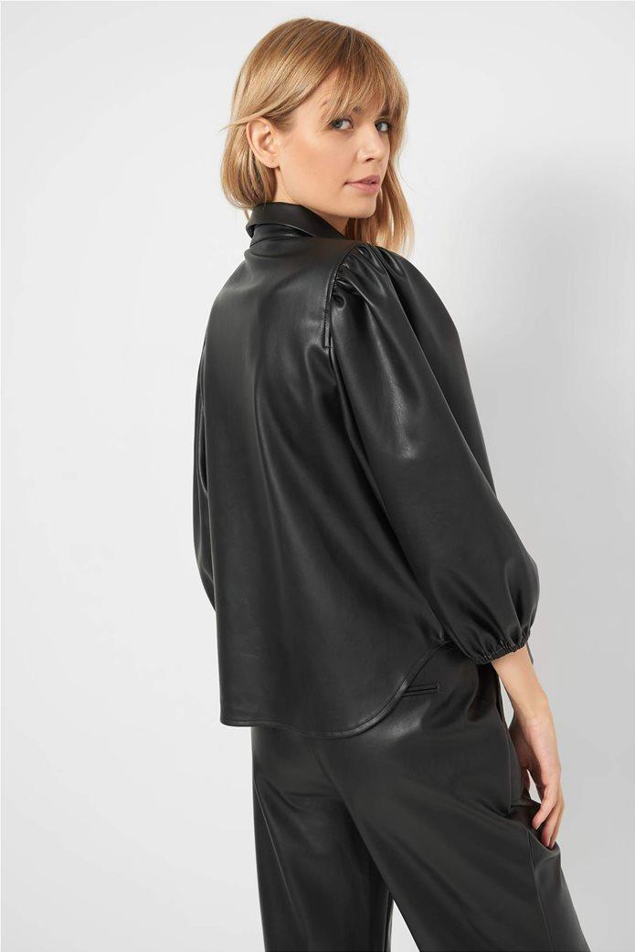 Orsay γυναικείο πουκάμισο faux leather 1