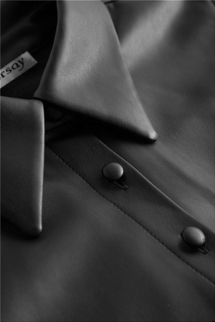 Orsay γυναικείο πουκάμισο faux leather 3
