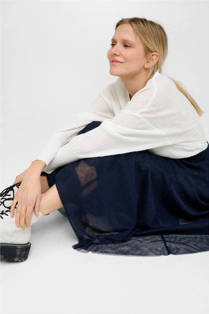 Orsay γυναικείο μπλούζα με μανίκι νυχτερίδα Λευκό 1