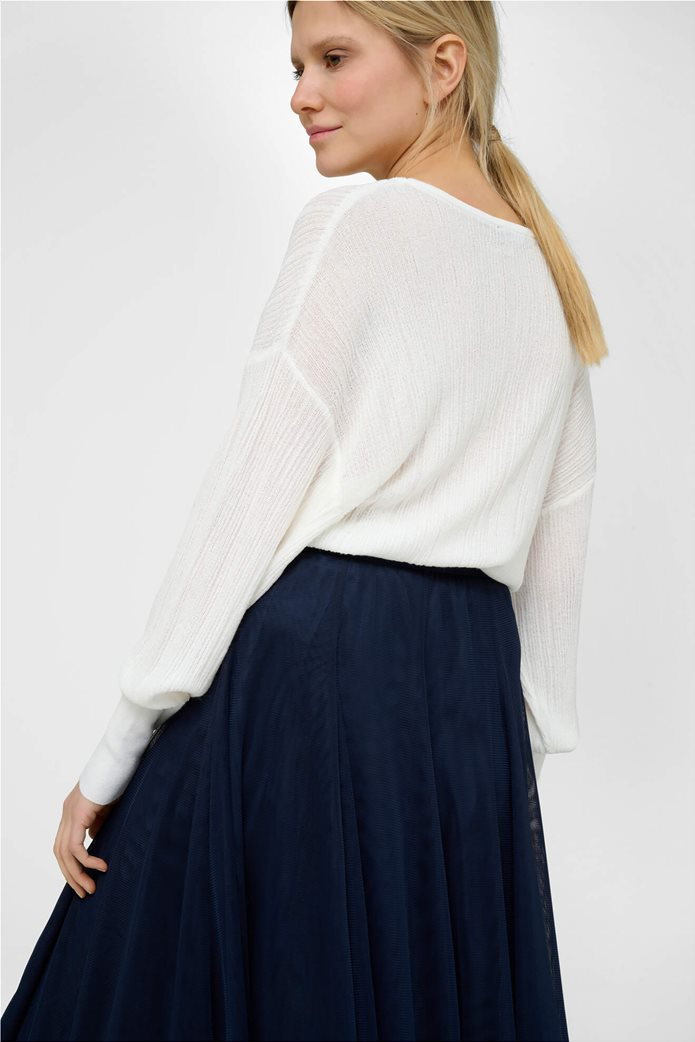 Orsay γυναικείο μπλούζα με μανίκι νυχτερίδα Λευκό 2