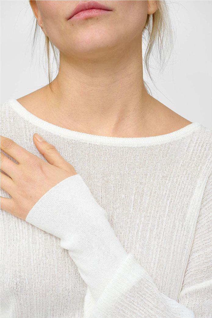 Orsay γυναικείο μπλούζα με μανίκι νυχτερίδα Λευκό 3
