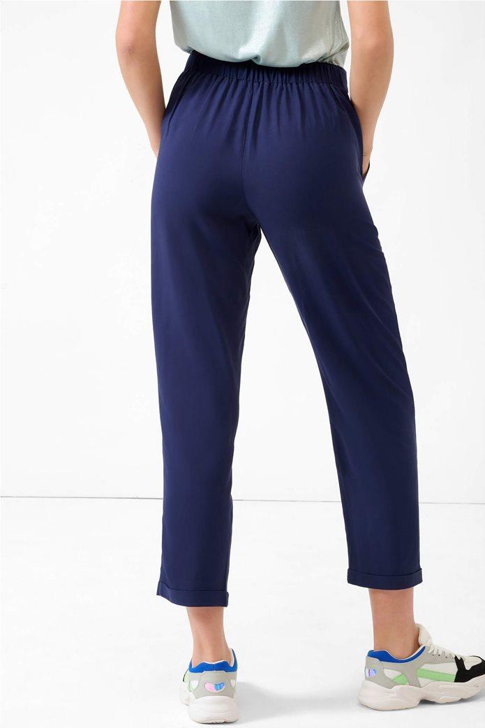 Orsay γυναικείο παντελόνι με ελαστική μέση Μπλε Σκούρο 2