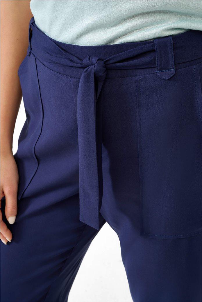 Orsay γυναικείο παντελόνι με ελαστική μέση Μπλε Σκούρο 3