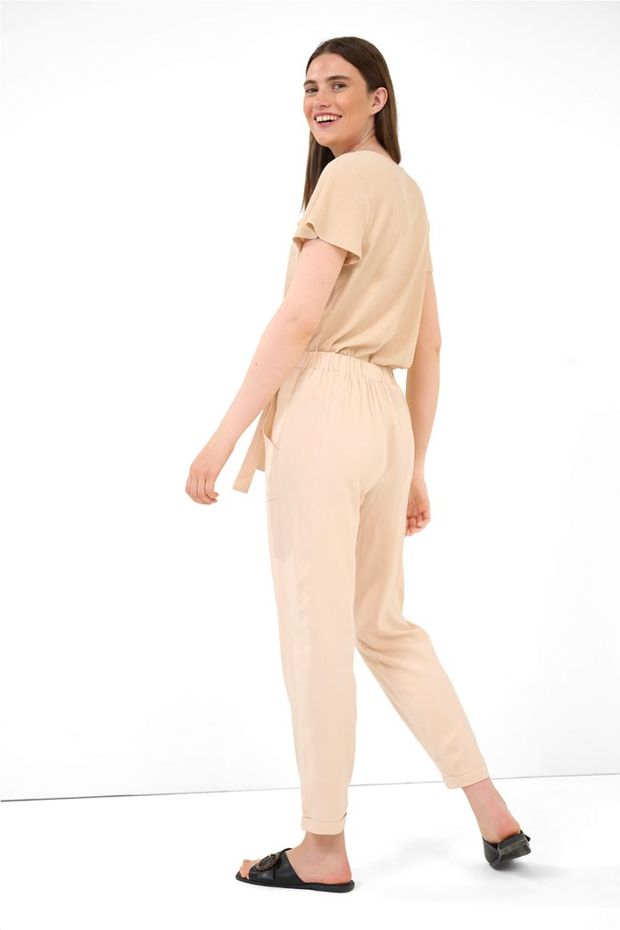 Orsay γυναικείο παντελόνι με ελαστική μέση Ροζ 2
