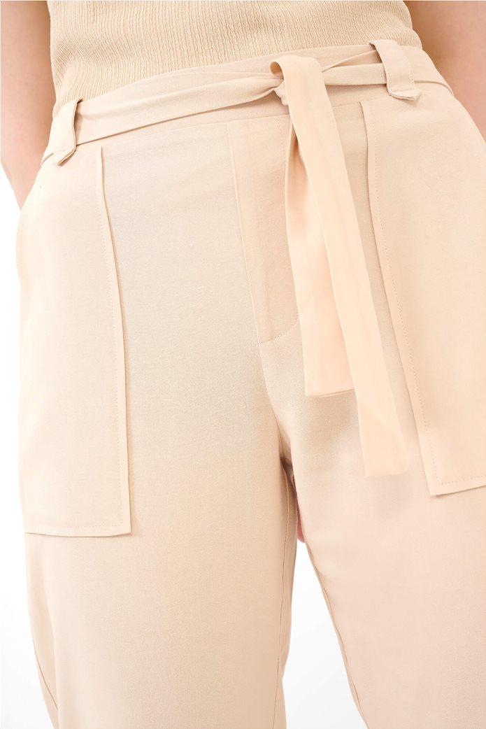 Orsay γυναικείο παντελόνι με ελαστική μέση Ροζ 3