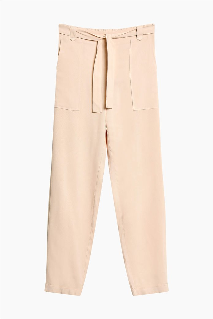 Orsay γυναικείο παντελόνι με ελαστική μέση Ροζ 4