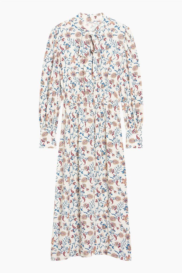 Orsay γυναικείο midi φόρεμα με floral print Άσπρο 4