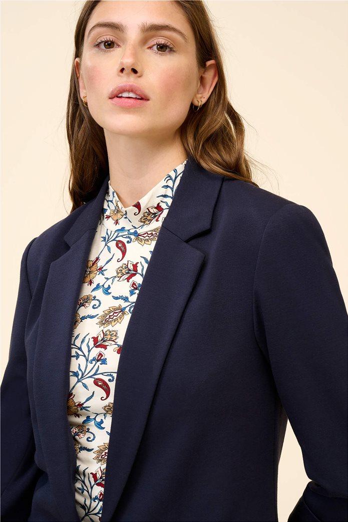 Orsay γυναικείο σακάκι με μανίκι 3/4 Μπλε Σκούρο 1