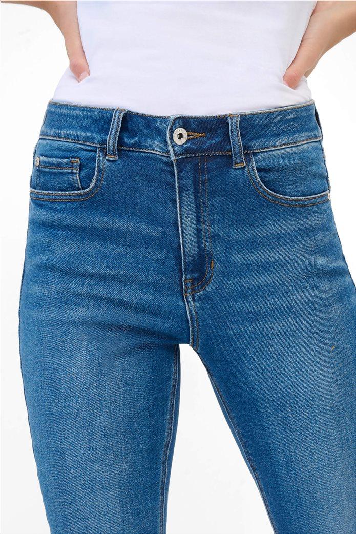 Orsay γυναικείο τζην παντελόνι ψηλόμεσο Slim Fit Μπλε 1