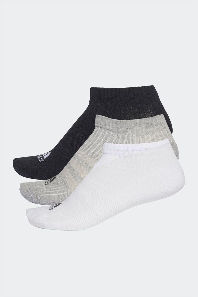 Adidas ανδρικό σετ κάλτσες προπόνησης (3 τεμαχίων) λευκό-μαύρο-γκρι 0