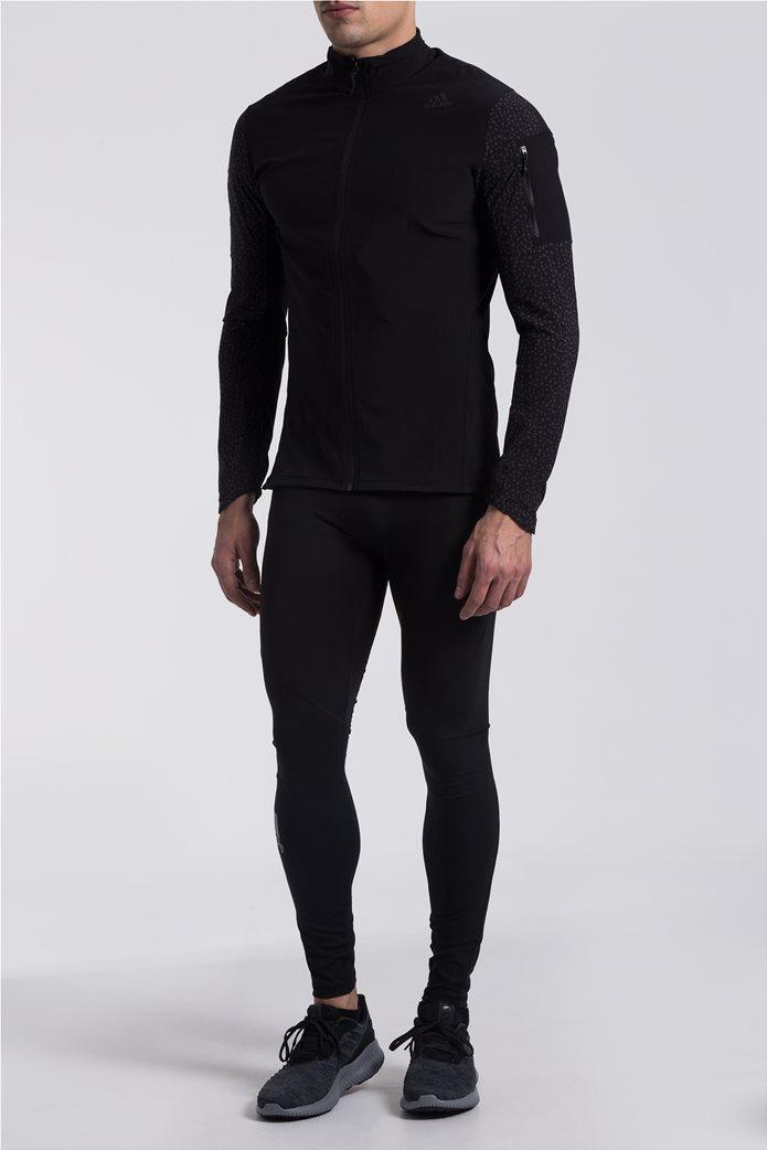 22c5810b47ad Ανδρικό αθλητικό μαύρο κολάν Alphaskin Adidas 0