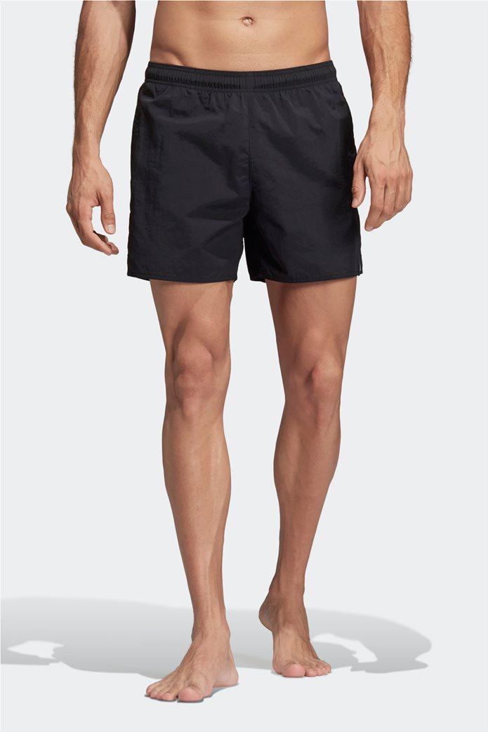 Ανδρικό μαύρο μαγιό βερμούδα Adidas 0