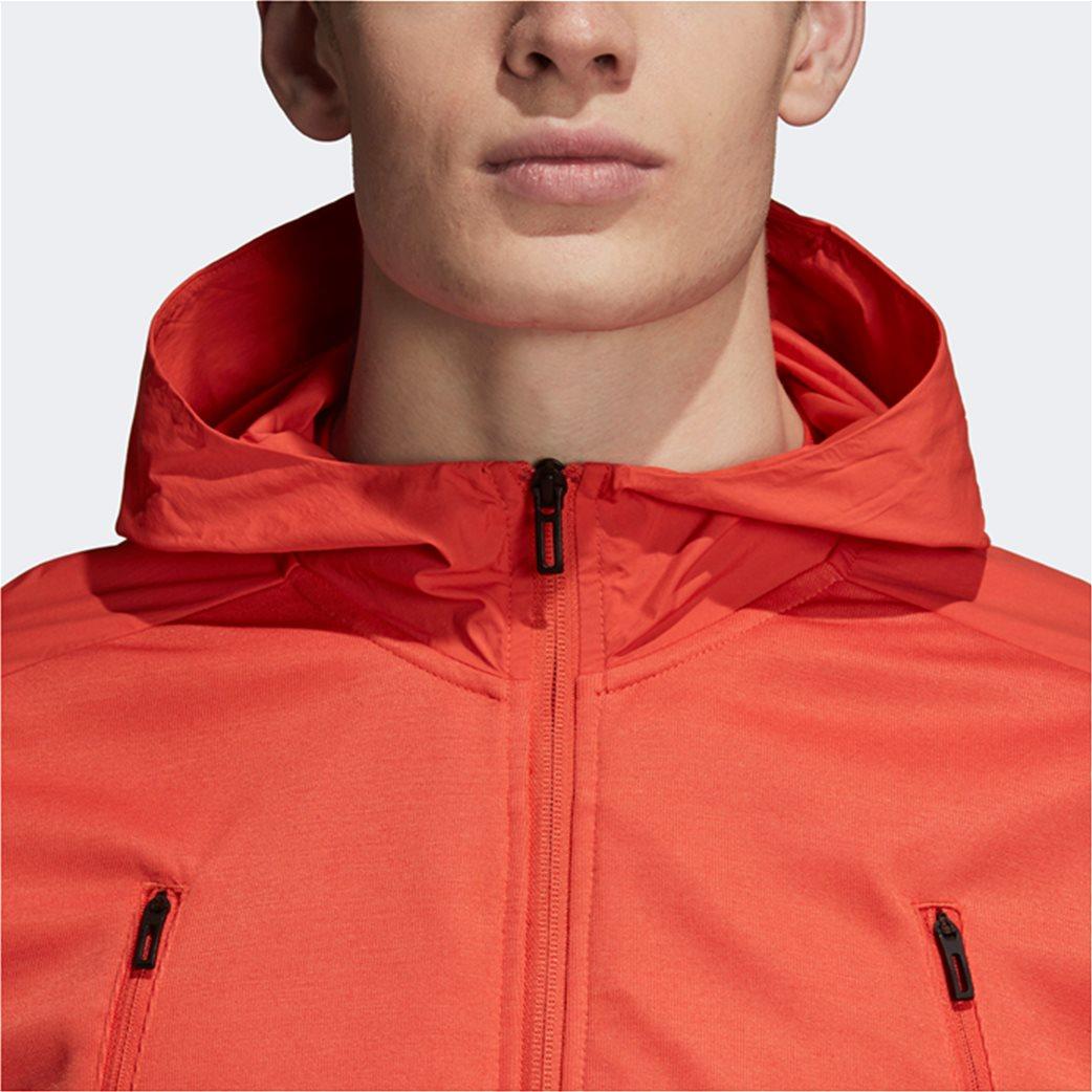 Adidas ανδρική ζακέτα ID Hybrid πορτοκαλί 3