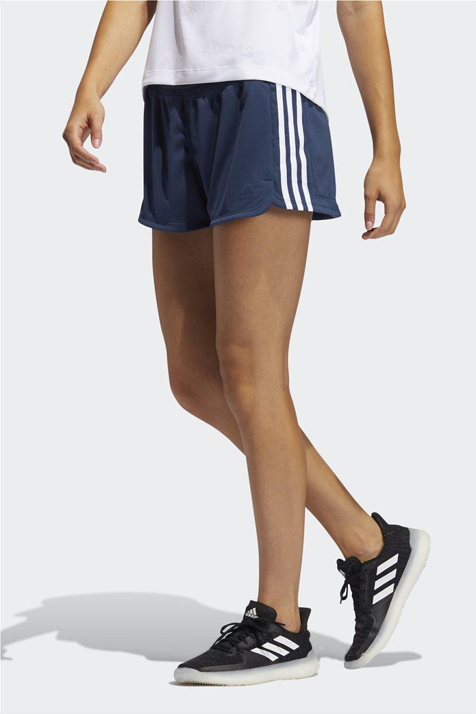 Adidas γυναικείο αθλητικό σορτς ''Pacer 3-Stripes'' 0