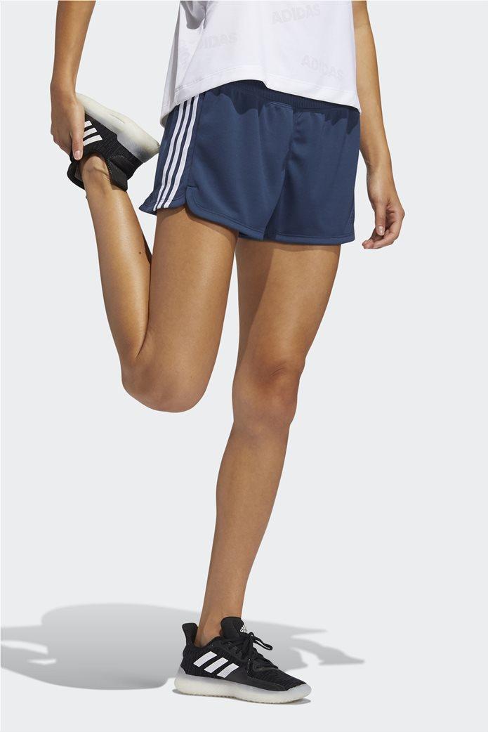 Adidas γυναικείο αθλητικό σορτς ''Pacer 3-Stripes'' 1