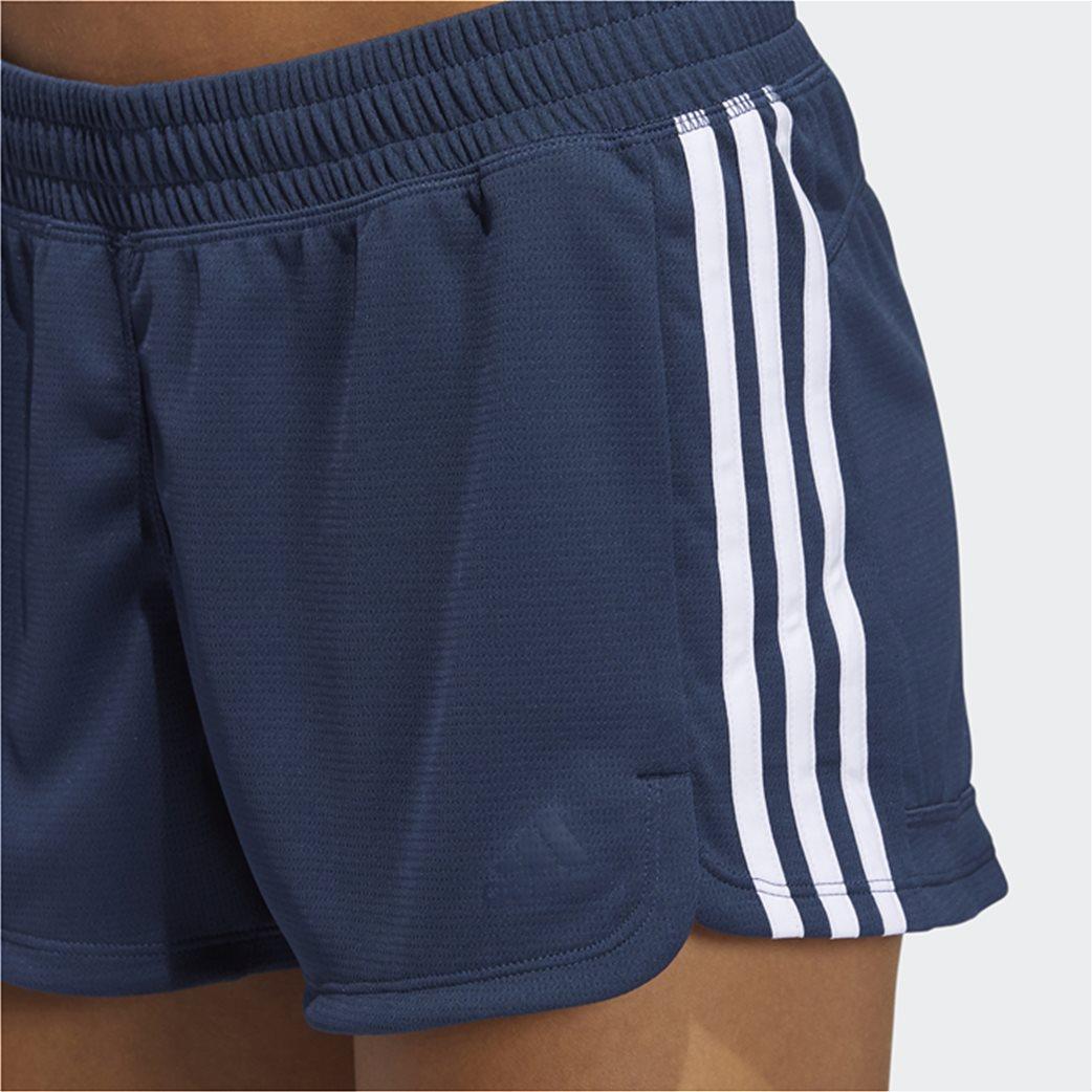 Adidas γυναικείο αθλητικό σορτς ''Pacer 3-Stripes'' 3