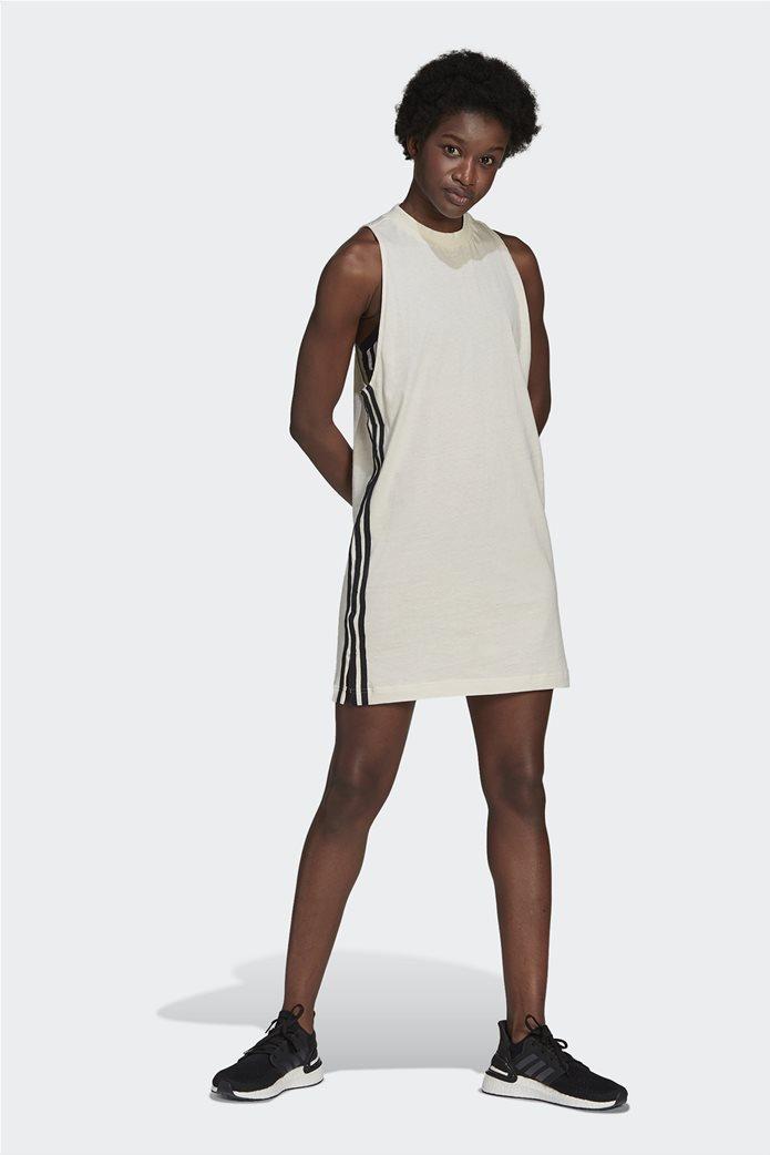 Adidas γυναικείο mini φόρεμα αμάνικο Loose Fit 0