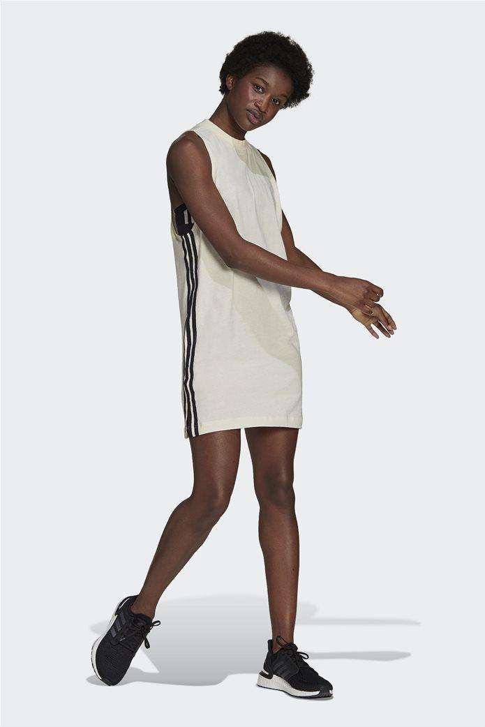 Adidas γυναικείο mini φόρεμα αμάνικο Loose Fit 1