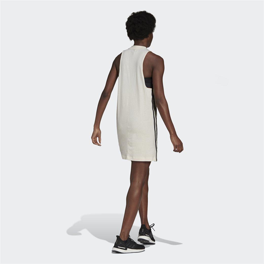 Adidas γυναικείο mini φόρεμα αμάνικο Loose Fit 2