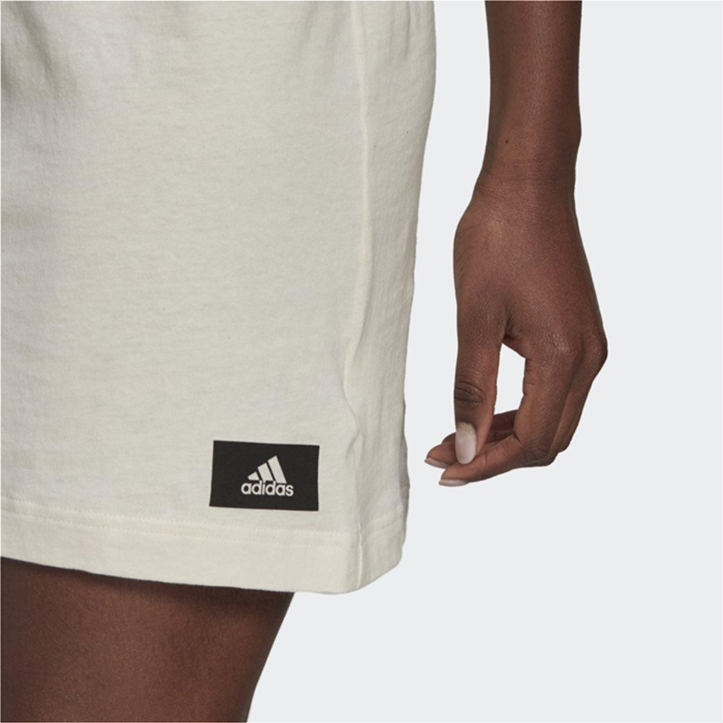 Adidas γυναικείο mini φόρεμα αμάνικο Loose Fit 4
