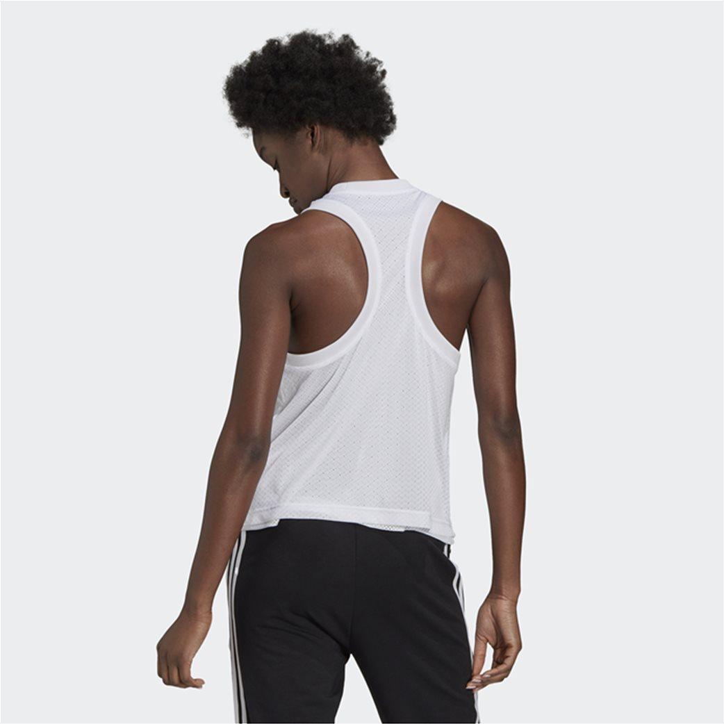 Adidas γυναικεία αμάνικη μπλούζα με διπλό mesh layer 2